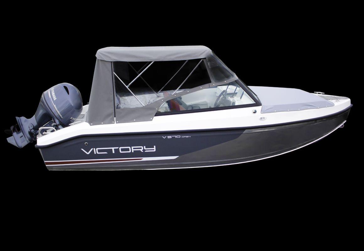 тент на лодку victory 570