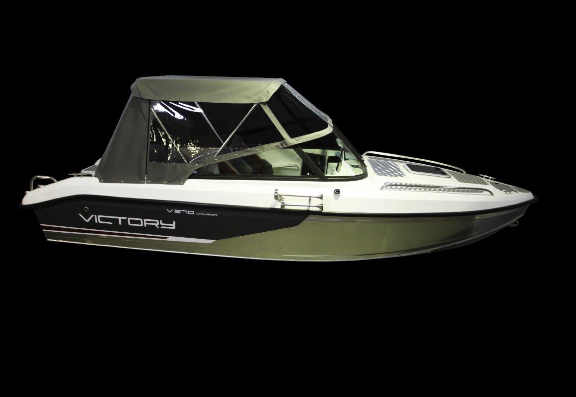 тент на лодку victory 570 cruiser