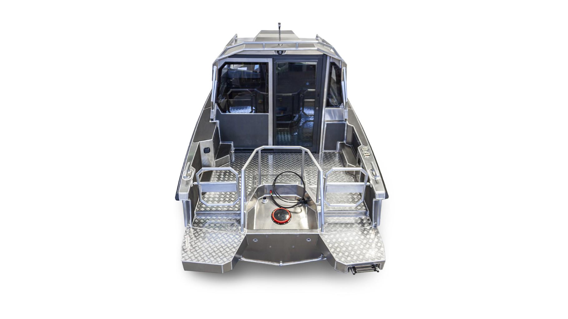 Алюминиевый катер A6