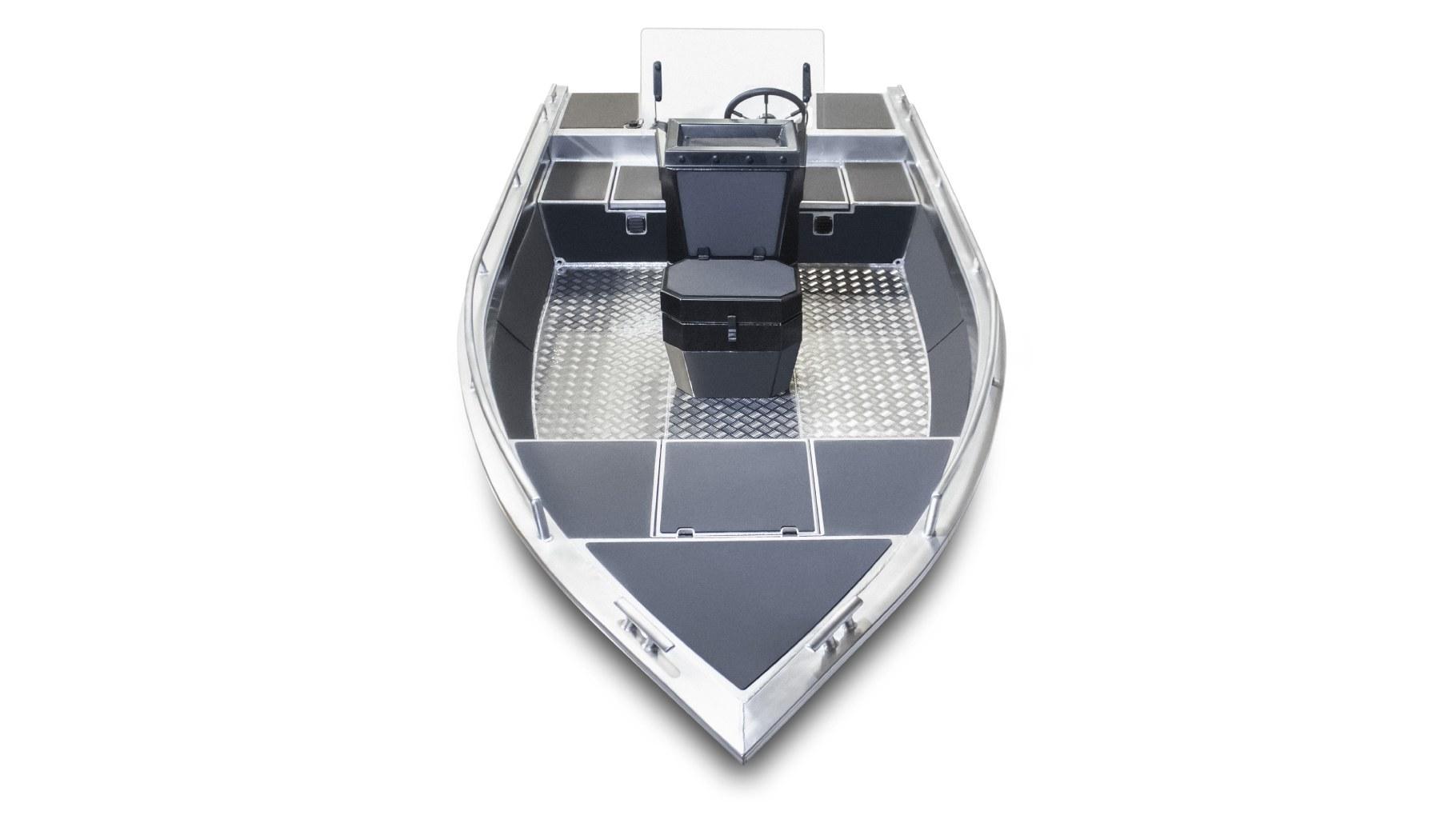 алюминиевая лодка victory A450